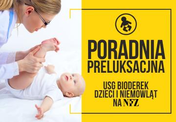 Darmowe badanie USG bioderek dla dzieci w ramach NFZ!