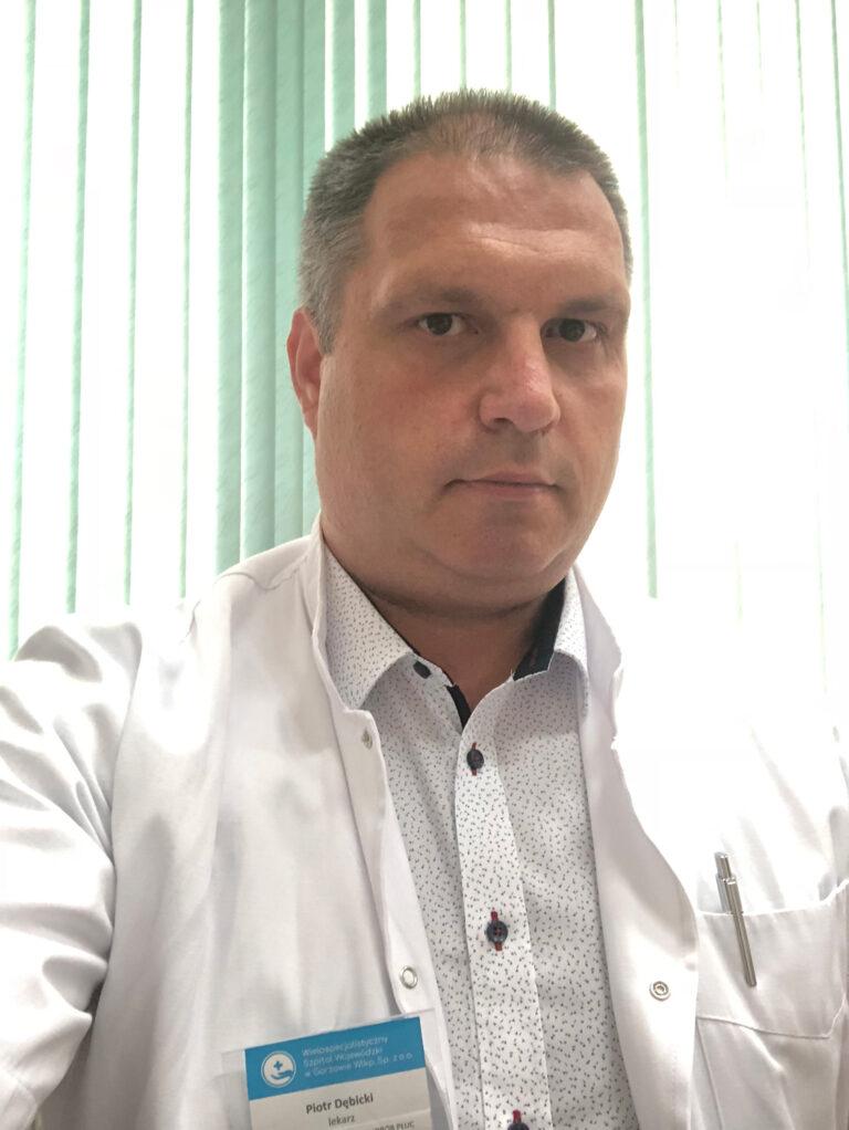 Read more about the article Lek. med. reumatolog Piotr Dębicki